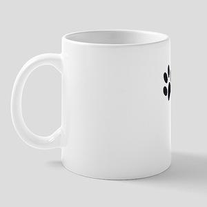 Cat Dad [b/w] Mug
